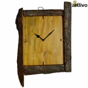 ECOLOG Rustic Wooden Wall Clock - WC050