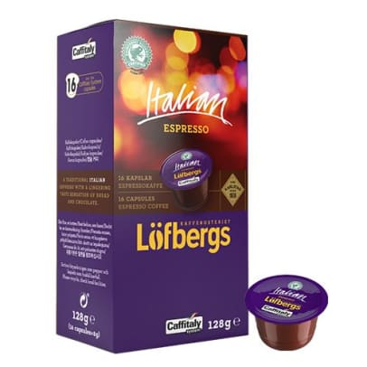 ITALIAN Espresso - Löfbergs - Rainforest Alliance