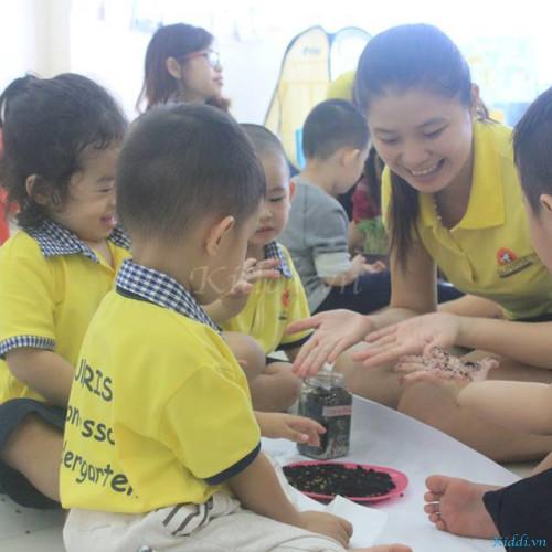 Mầm non Quốc tế Sunrise Montessori - Khu Intresco