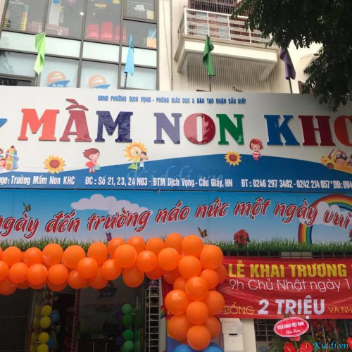 Trường mầm non KHC - N03 Dịch Vọng