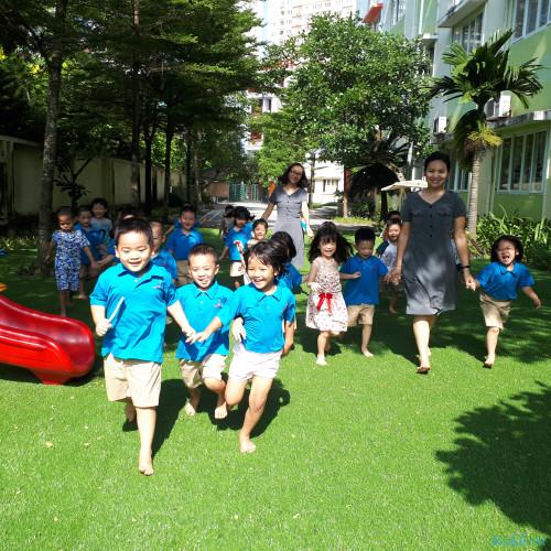 Trường mầm non Chu Văn An - Khu đô thị Văn Khê