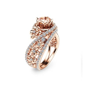 Pink Angel 18K Rose Gold Plated