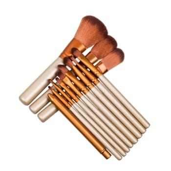 12PCS Makeup Brushes Nake