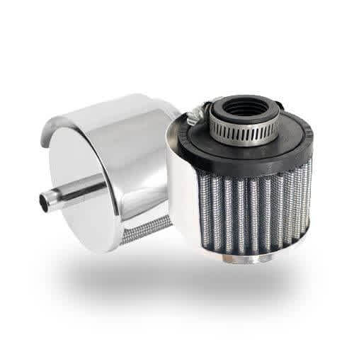 crankcase vent breather filters
