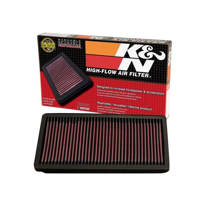 Lavable et R/éutilisable K/&N 33-2124 Voiture Filtre /à Air de Remplacement