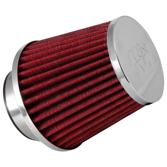 K/&N Filters RG-1001RD Universal Chrome Air Filter