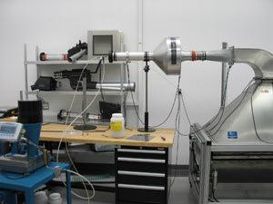 K&N Air Filter Testing Equipment