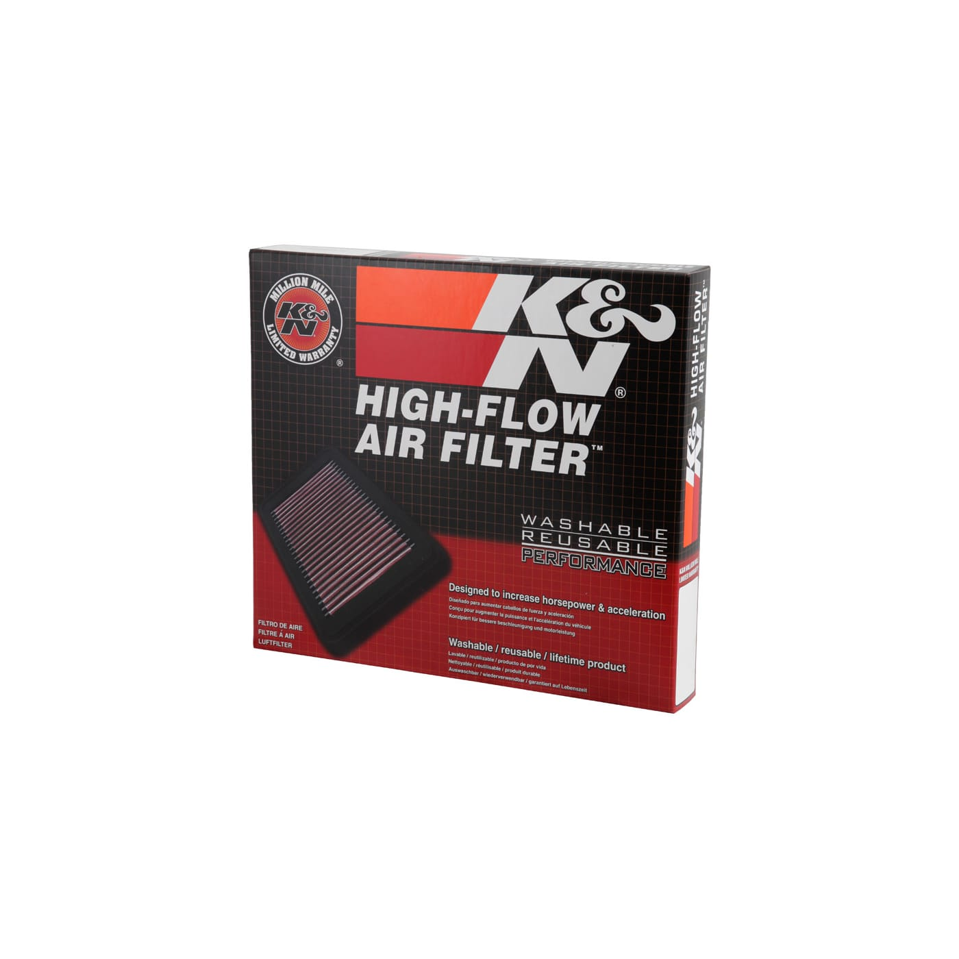 K/&N High Flow Replacement Air Filter 33-2119 K and N Original Performance Part