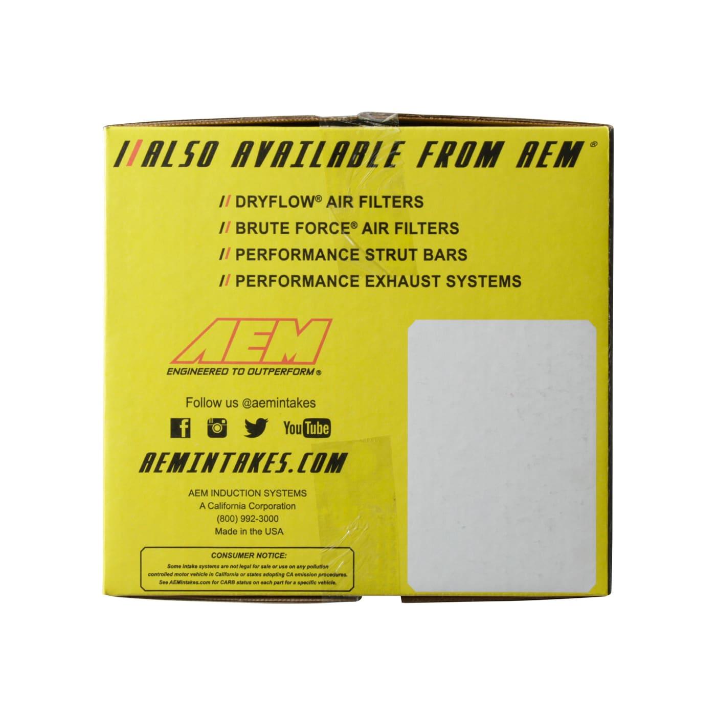 AEM 21-577P Polished Cold Air Intake System