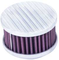 Four Inch Finned Aluminum Top Filters