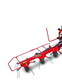 Kverneland 8460 - 8480, compact tedders for hay making