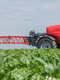 Kverneland iXtrack T6, maximum performance with low cost, stable and precise on field
