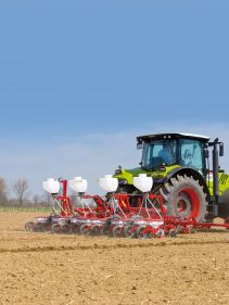 Kverneland monopill e-drive2, Mechanical precision drill for beet, rape and chicory