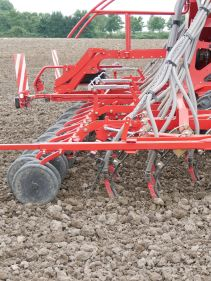 Kverneland ts-drill, cost efficient combined with high performance on the field