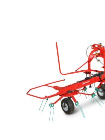 Kverneland 8446 - 8452T - 8452, compact tedders with low maintenance