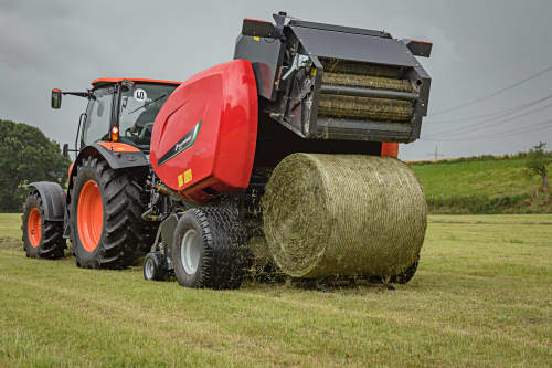 Fixed Chamber round balers - Kverneland 6350 Plus, produced for efficient use and silage conditions