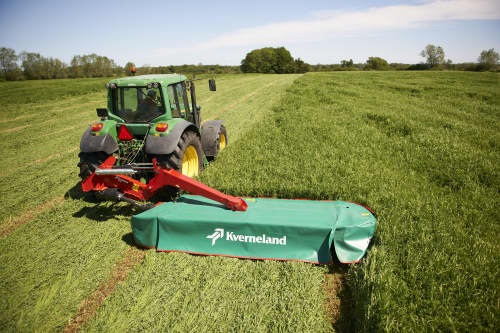 Plain Mowers - Kverneland 2800 M, Centre mounted disc mower, tractors with 40 hp