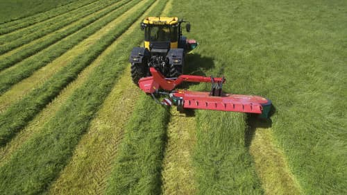 Mower Conditioners - Kverneland 3332MT-3332MR-3336MT, four suspension arms providing great flow on field