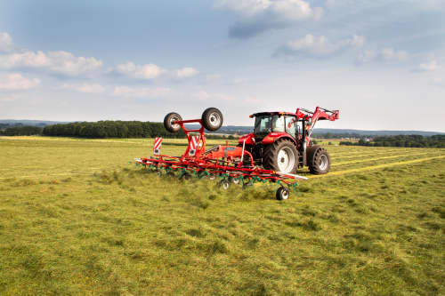 Tedders, Trailed - Kverneland 8590 C - 85112 C, smaller tractors, smart transport and reliable performance on field