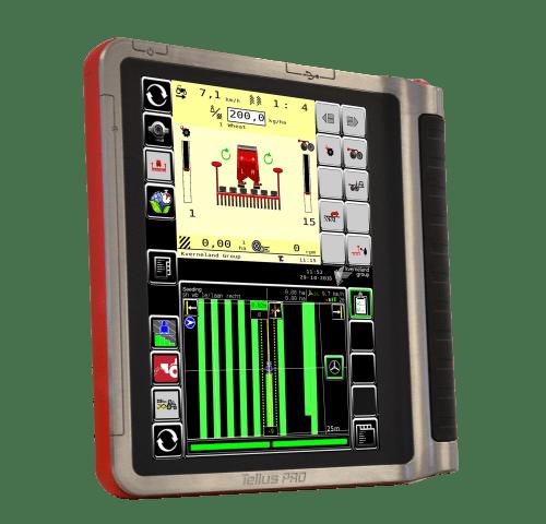 Kverneland ts-drill, Telluspro seeder