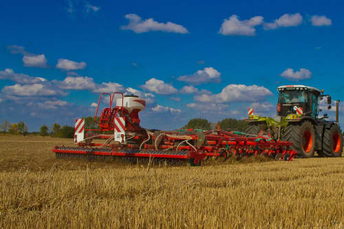 Stubble Cultivators - Kverneland A-Drill performs rapid implementation of crop at low price, with high precision