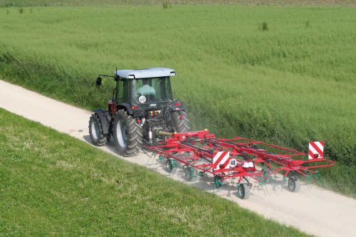 edders, Trailed - Kverneland 8583T - 85111 T, tidy in transportation, strong design with high performance