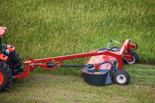 Plain Mowers - VICON EXTRA 532 - 540 - TRAILED MOWERS, sideward adaption for optimal flexibility and user friendly