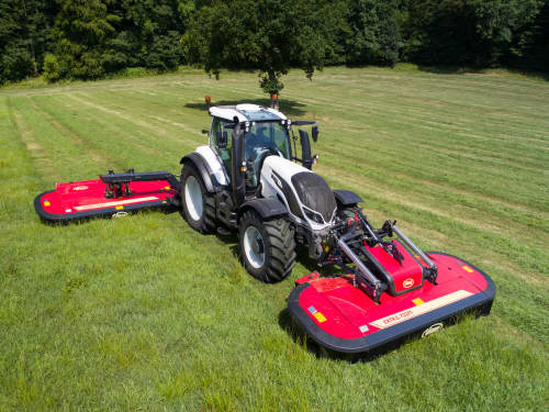 Mower Conditioners - VICON EXTRA 732FT - 732FR - 736FT - 736FR FRONT MOUNTED MOWER CONDITIONERS, new and comfortable ideas to the machine with a maintenance friendly design