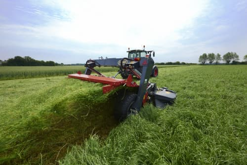 Mower Conditioners - Kverneland EXTRA 900, Unique Suspension providing Outstanding Ground Following