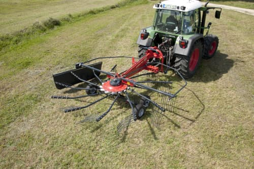 Single Rotor Rakes - VICON ANDEX 424-464, ProLine Gearbox technology for efficient performance