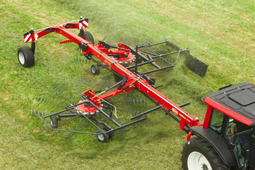 Double Rotor Rakes - VICON ANDEX 774, great maneuvreability and superb performance