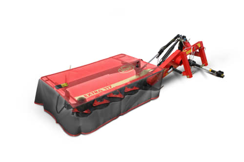 Plain Mowers - VICON EXTRA 117 - 122 - 124 - REAR MOUNTED MOWERS, quiet during operation and maintenance friendly