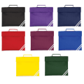 Classic personalised book bag in various colours