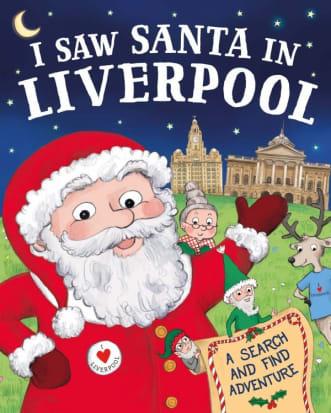 Christmas Book: I saw Santa in...