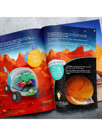 Personalised Children's Book Space Adventure