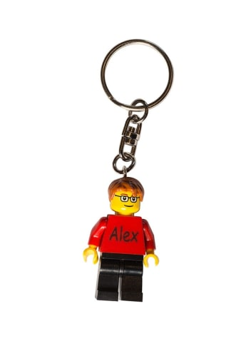 Personalised LEGO® Keyrings