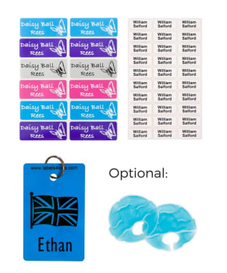 Small vinyl label by labels4kids waterproof name labels