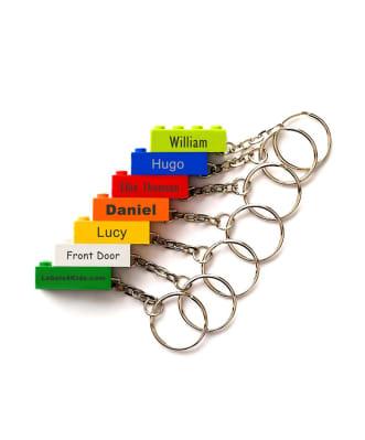 Personliga Lego®-nyckelringar