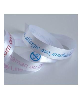 ID-armband i Satin - 2 pack