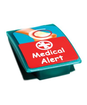 Large name label medical alert
