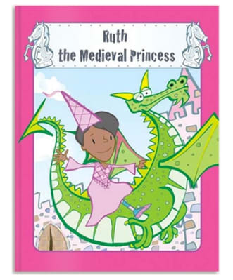 Personalised Medieval Princess book