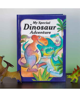 Dinosaur Adventure Front Cover