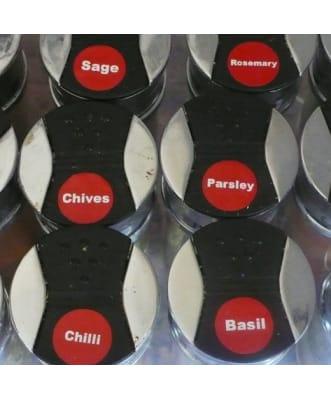 Etiquetas para Productos de Cocina