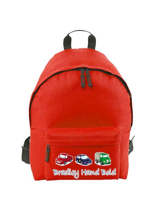 Back pack with monsters