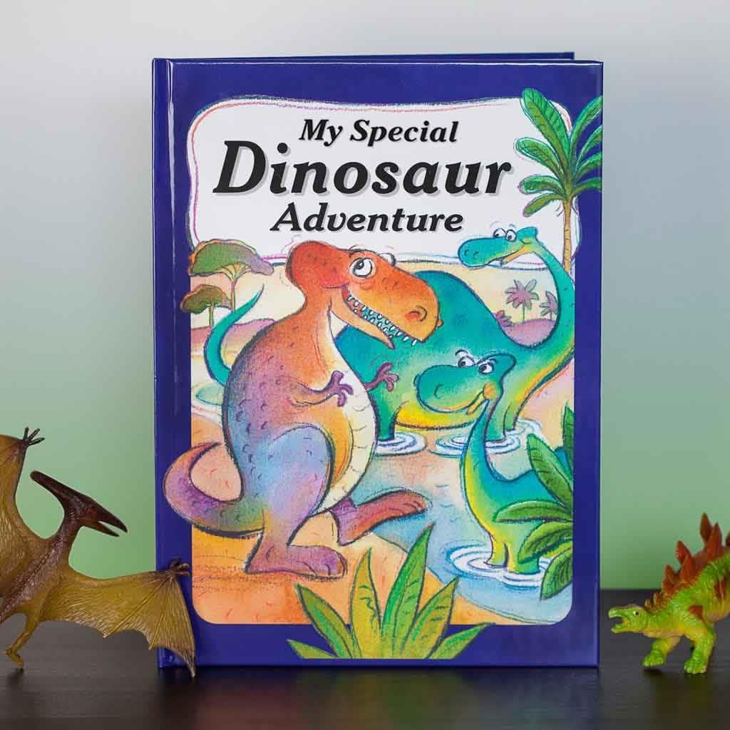 Dinosaur Adventure Front Cover