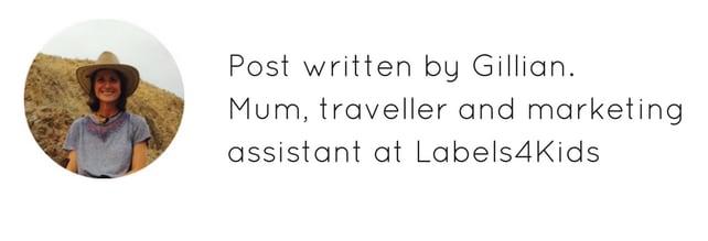 Post written by Gillian