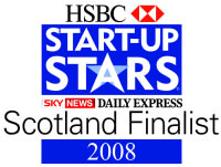 HSBC Startup Stars Awards Scottish Finalist 2008