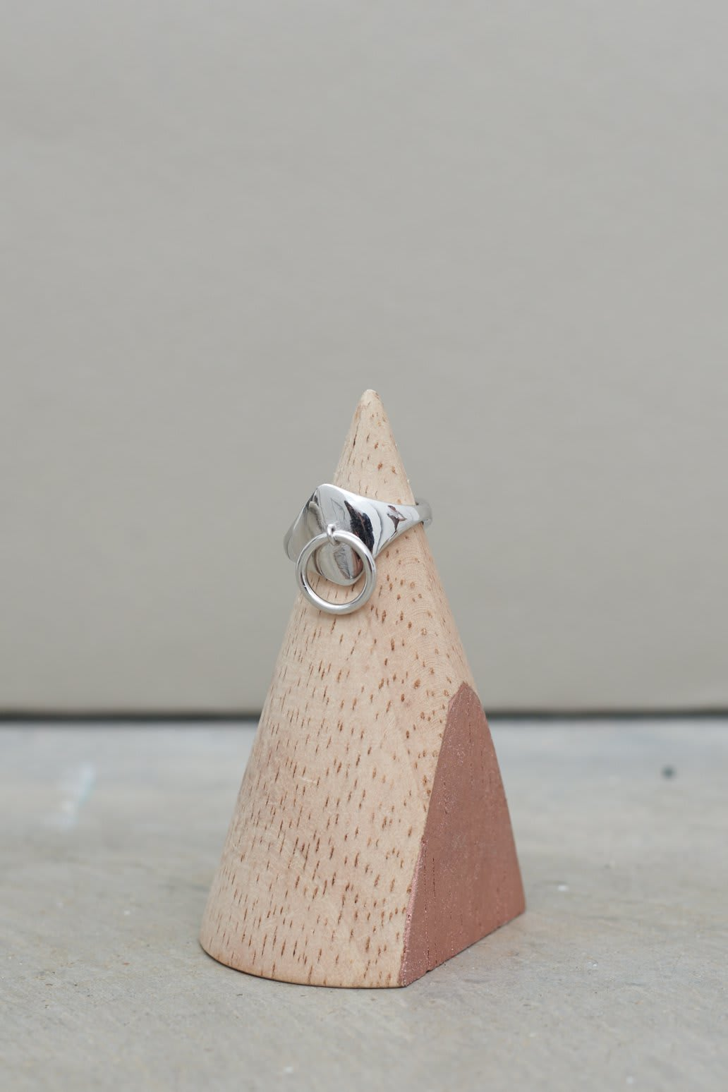Hoop Ring in Sterling Silver