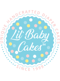 Dog Gone Cute Neutral Diaper Cake by Lil' Baby Cakes