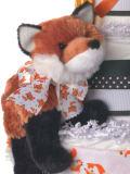 Fox Plush Animal with Bow